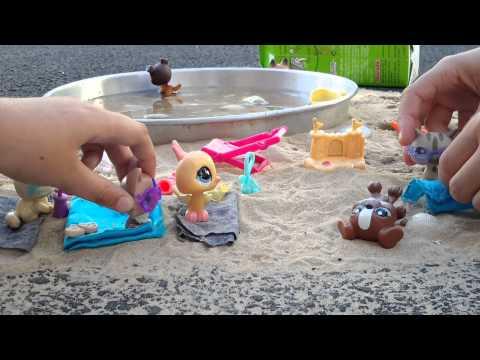 Les petshop a la plage ❤