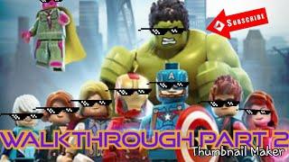LEGO  MARVEL's Avengers Walkthrough part 2