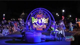 Full Boo To You parade at Mickey