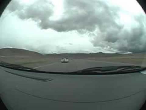 Reno Fernley Raceway - F430 sketchy passing Evo 9