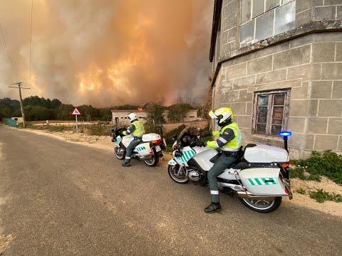 Incendios en Ourense: el infierno en Cualedro, otra vez