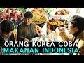 REAKSI ORANG KOREA MENCOBA MAKAN MASAKAN INDONESIA RENDANG GEPREK SATE