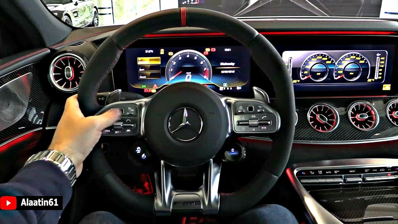 2019 Mercedes AMG GT 4 Door Coupe - INTERIOR