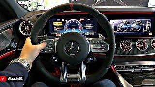 2019 Mercedes AMG GT 4 Door Coupe - INTERIOR