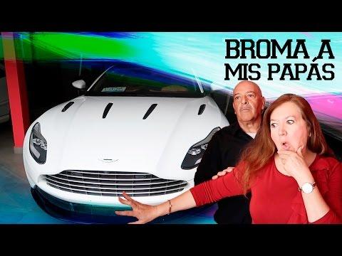 Me compré un Aston Martin (*BROMA A MIS PAPÁS*)  | JUCA