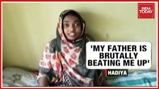 Kerala Love Jihad Hadiya Accuses Her Father Of Brutally Beating Her