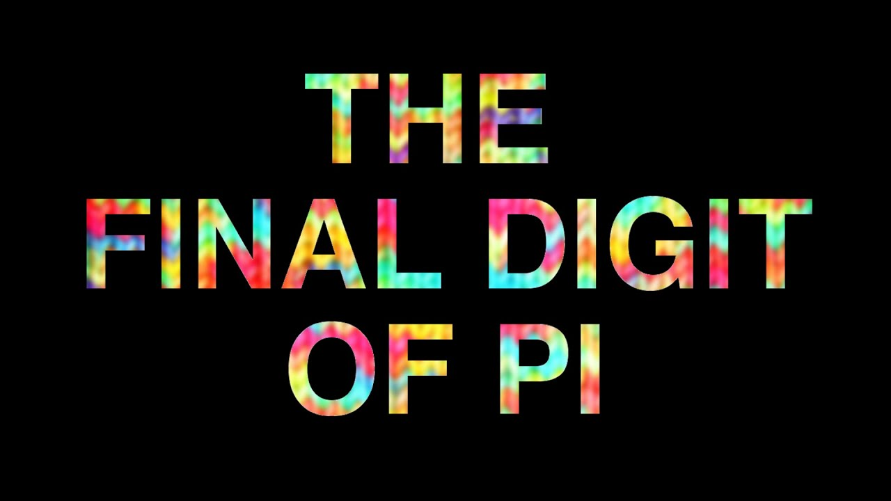 the final digit of pi last digit of � base 12