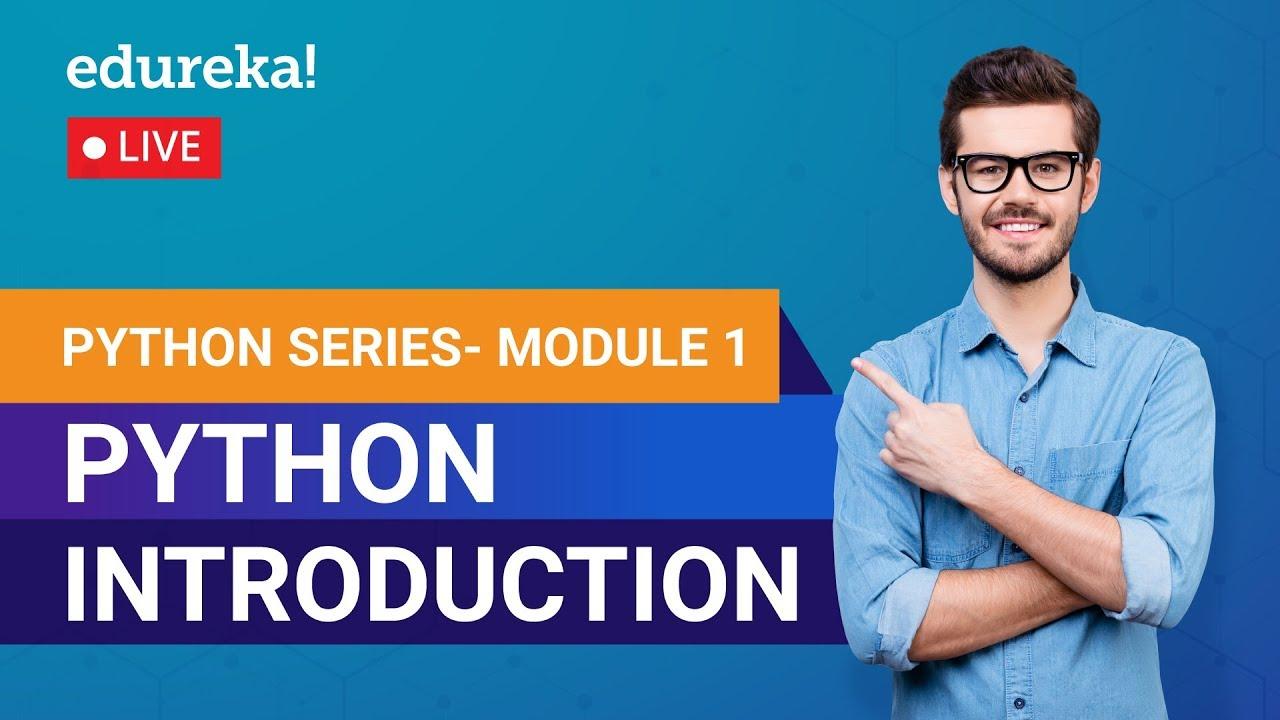 Learn Python Module 1 - Introduction to Python | Python Crash Course