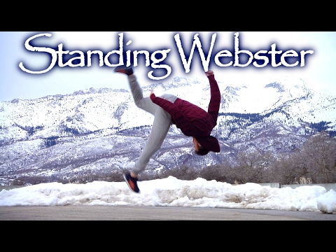 Slow Motion WEBSTER FRONT FLIP  Free Running Tutorial