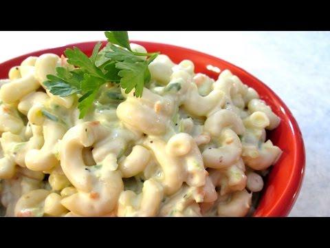 Macaroni Salad - Hawaiian Style Cold Noodle Salad - PoorMansGourmet