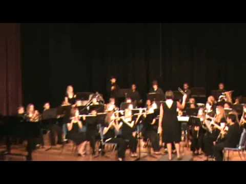 "Tifton Eighth Street Middle School plays ""Temecula Valley Fanfare"" in Douglasville Competition"