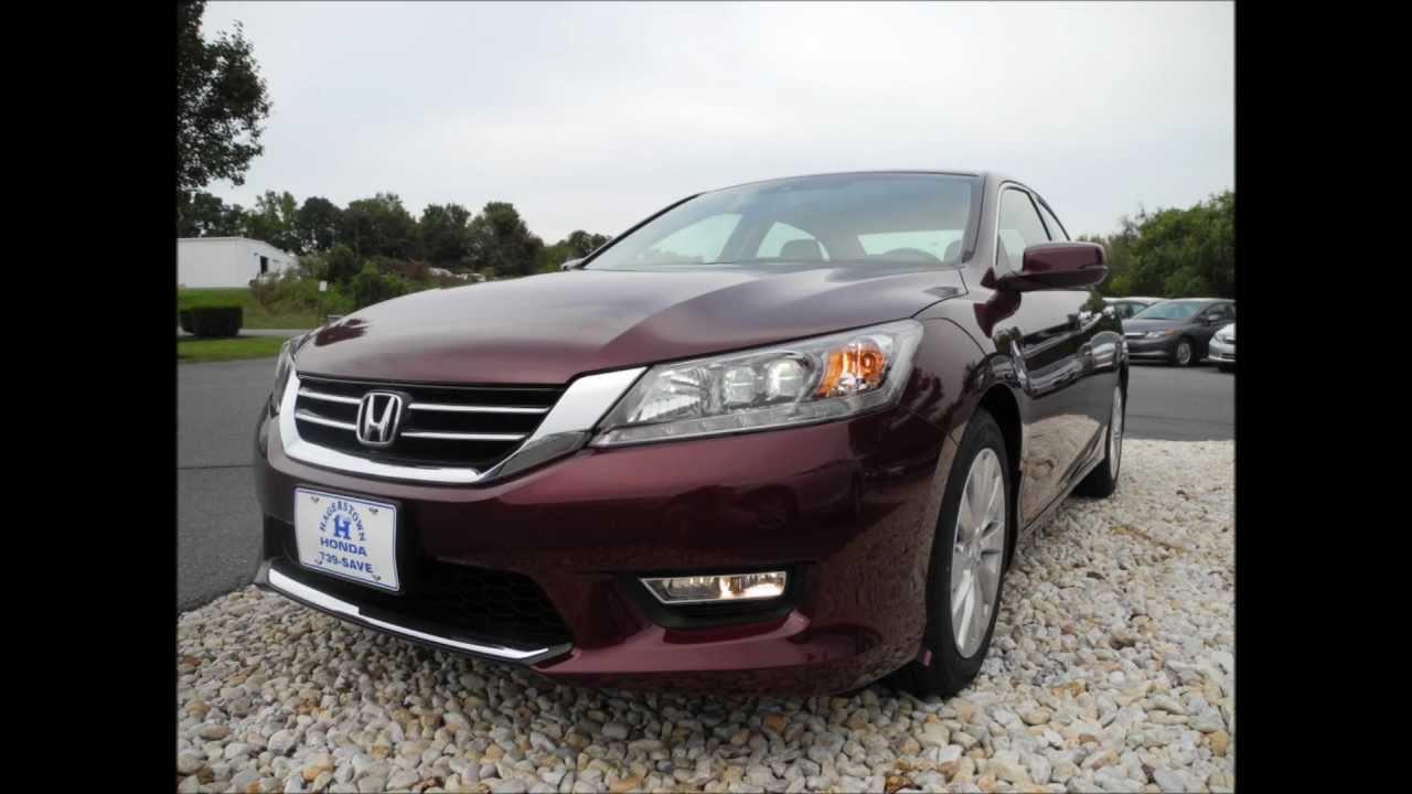 Honda Accord Sedan >> 2013 Honda Accord Sedan Touring V6 Automatic Basque Red Pearl II - YouTube