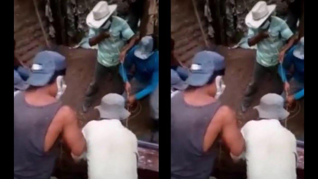 Entierran a víctimas de Covid-19 en su patio, en Chiquimula - YouTube