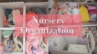 Nursery Organization! Tips and Tricks!