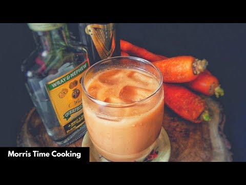 Real Jamaican Carrot Juice | Alcoholic Beverage | Lesson #128 | Morris Time Cooking