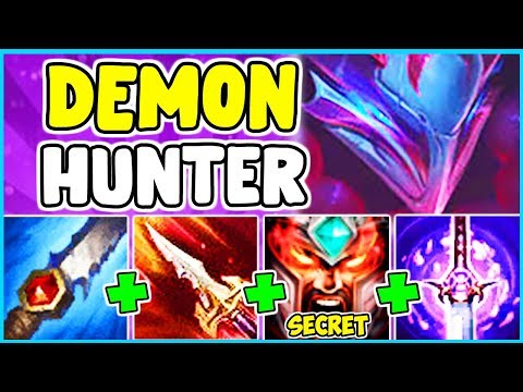 *NEW SKIN* BLOOD MOON TRYNDAMERE SPOTLIGHT FULL LETHALITY ONESHOT BUILD JUNGLE League Of Legends S10