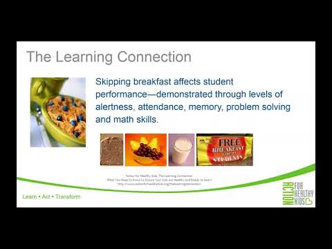 Helping Kids Learn Better with Healthy School Meals