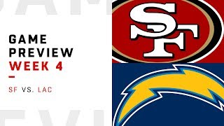 San Francisco 49ers vs. Los Angeles Chargers   Week 4 Game Preview   NFL Film Review