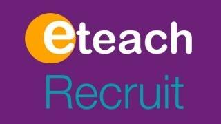Eteach Recruit for Schools