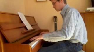 Black Eyed Peas - Meet me Half Way Piano Version