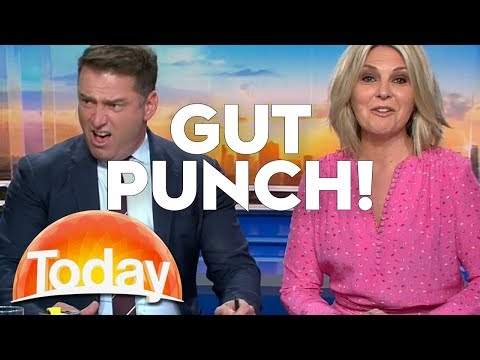 Georgie Gut Punches Karl | TODAY Show Australia