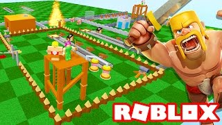 Roblox → FÁBRICA DO CLASH OF CLANS !! - Clash of Clans Tycoon 🎮
