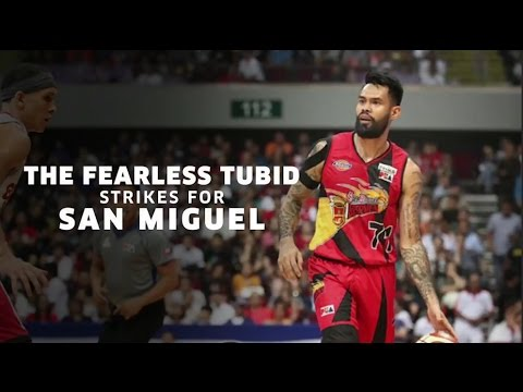 The Fearless Tubid Strikes for San Miguel | PBA Philippine Cup 2016 - 2017