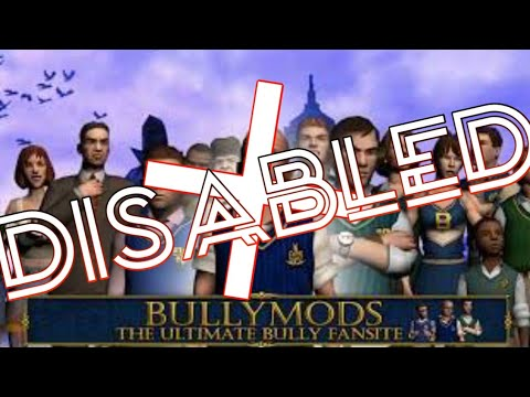 Bully mods net DISABLED/DOWN?