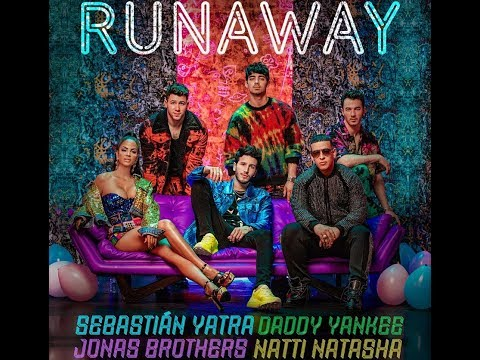 Смотреть клип Sebastián Yatra, Daddy Yankee, Natti Natasha Ft. Jonas Brothers - Runaway