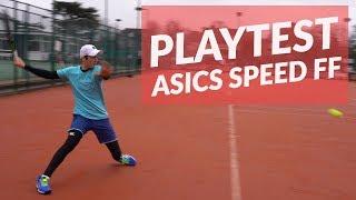 PlayTest: ASICS Speed FF Tennis Shoe - better than the Nike Vapor X?