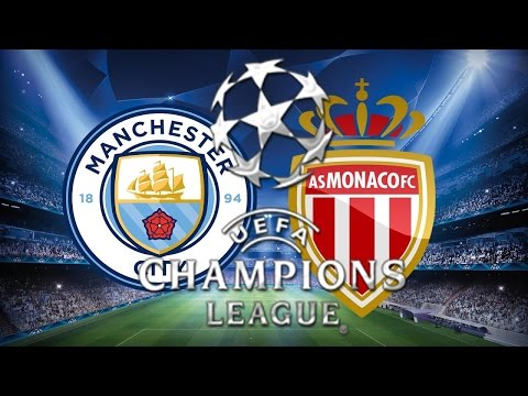 Monaco Vs Manchester City Uefa Champions...
