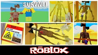 Survival The Siren Head The Killer By 5-Bit Games [Roblox]