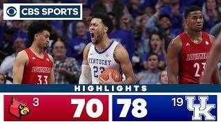 Louisville vs Kentucky Highlights: #19 Wildcats outlast #3 Cardinals for OT victory | CBS Sports