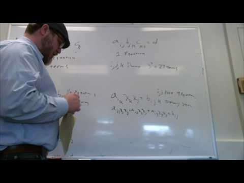 Lecture1 part1 Einstein summation