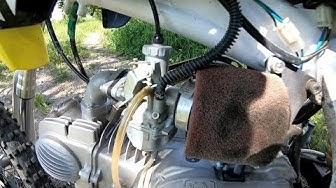 Miten puhdistaa kaasutin?