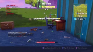LIVE FORTNITE, REGALO LO STARTER PACK A 8K!