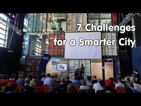 #210 7 Challenges for a Smarter City: Make Zurich