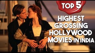 Top 5 - Highest Grossing Hollywood Movies In India (Adjusted) | Simbly Chumma