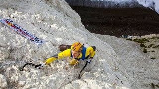 Climbing Vertical Chalk Cliffs with Ice Axes