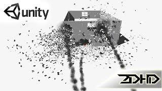 Unity урок 14 FPS, взрывы, разрушаемость, ракеты