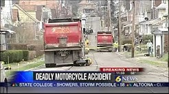 Man killed in motorcycle-dump truck crash in J