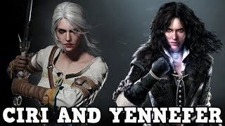 The Witcher Netflix Series - Ciri and Yennefer Cast
