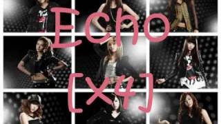 SNSD - Echo (lyrics)
