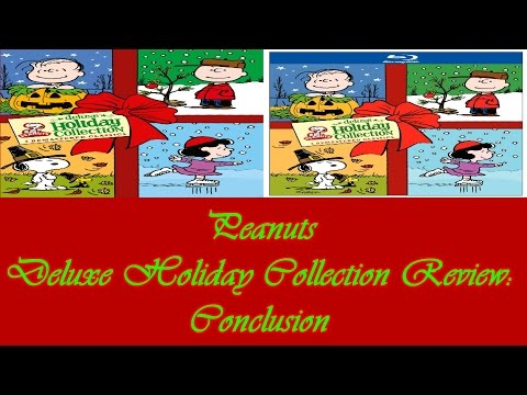 Peanuts Deluxe Holiday Collection : Conclusion