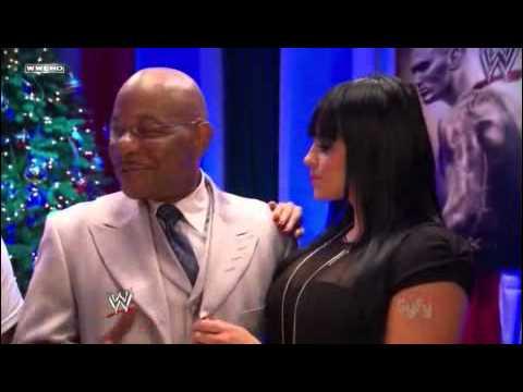WWE Diva Aksana &Theodore Long
