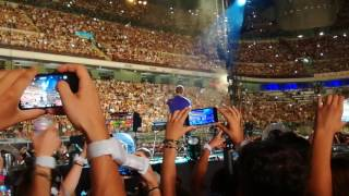 Coldplay live in Milan 4-07-2017