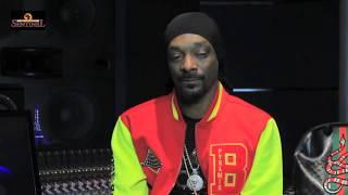 Snoop Dogg talks new gospel album 'Bible of Love' (pt1of 3)