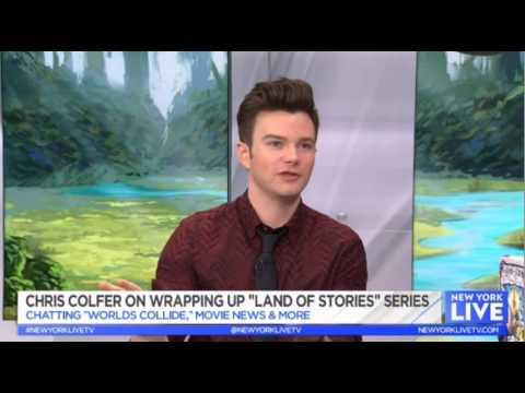 Chris Colfer on New York Live