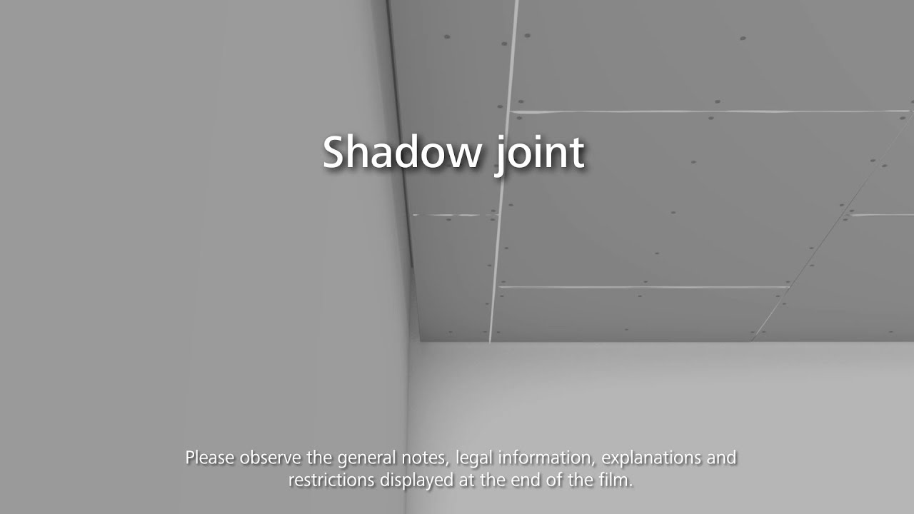 Stosilent Distance Acoustic Ceiling 04 Shadow Gap