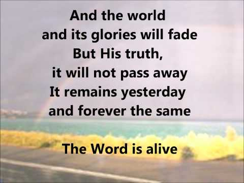 The Word Is Alive- Casting Crowns lyrics